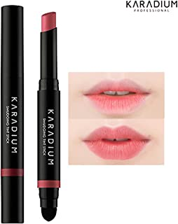 [KARADIUM] Smudging Moisturizing Long Lasting Lip Tint Stick 1.4g - 6 Colors (#5 soft rose)