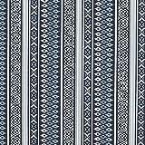 Fabulous Fabrics Dekostoff Cretonne Inka Streifenmuster –