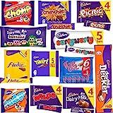 Cadbury Chocolate Gift Box - Bulk Chocolate Bars and Bags of Cadbury Chocolate Favourites (60 Bars)