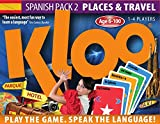 KLOO's Learn to Speak Spanish Language Card Games - Place & Travel - Pack 2 (Double Decks)