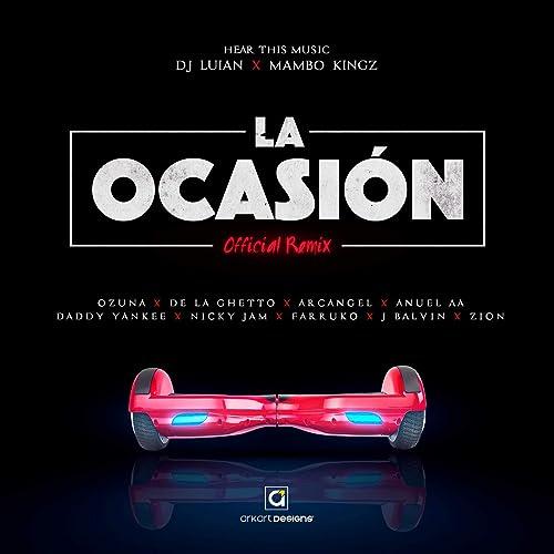Amazon.com: La Ocasión [Explicit] (Remix): DJ Luian & Mambo ...