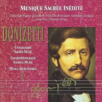 Musica Sacra Inedita: Gaetano Donizetti Vol. 3
