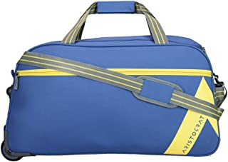 Aristocrat Polyester 65 cms Blue Travel Duffle (DFTDAW62BLU)