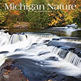 Michigan Nature 2021 12 x 12 Inch Monthly Square Wall Calendar, USA United States of America Midwest State Wilderness