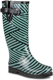 Women's Drizzy Tall Cute Rubber Rain Boots