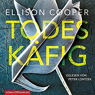 Todeskäfig     Sayer Altair 1              By:                                                                                                                                 Ellison Cooper                               Narrated by:                                                                                                                                 Peter Lontzek                      Length: 10 hrs and 49 mins     Not rated yet     Overall 0.0