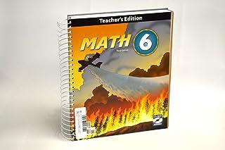 Math, Grade 6, Teacher's Edition (Book & CD)