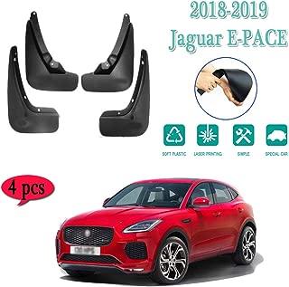 LAUTO Mud Flaps,Suitable for 2018-2019 Jaguar E-PACE Mud Flaps Splash Guards Set of 4,Car fender