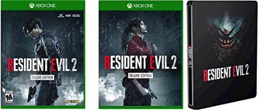 Resident Evil 2 Remake Deluxe Edition XBOX ONE + Collector's Edition Steelbook USA 2019 Capcom