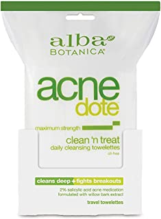 Alba Botanica Anecdote Clean Treat Daily Cleansing Towelettes Wipe