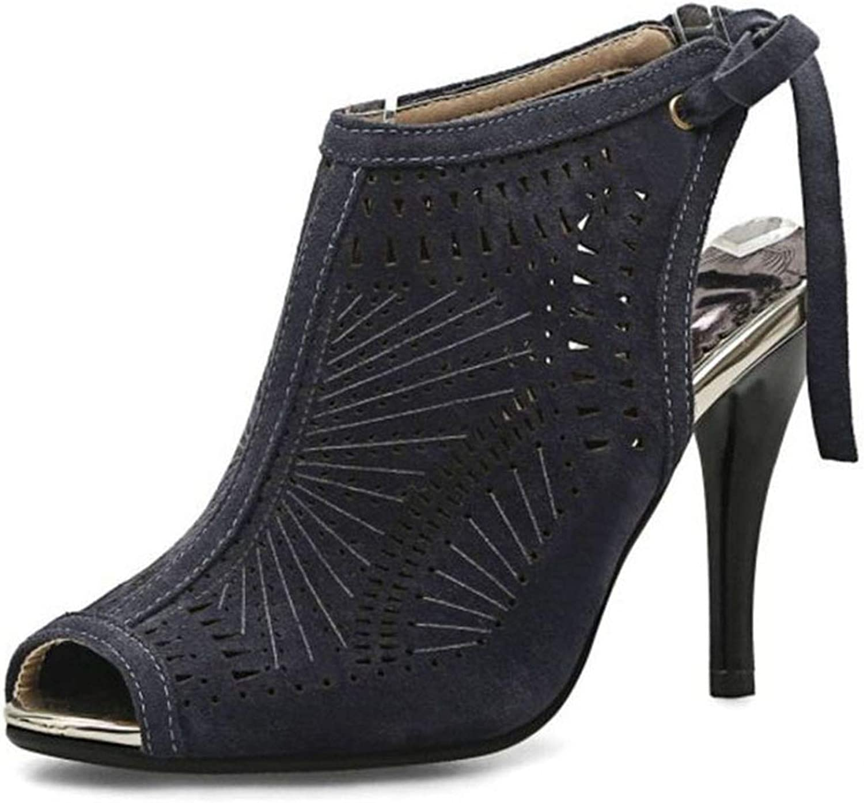 Sandals Hollow Out Flowers Summer shoes Women Cross Strap Platform Gladiator High Heel Sandals