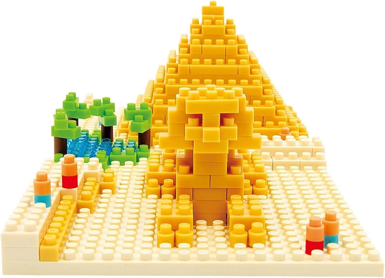 Kawada NBH-033 Nanoblock Giza's Big Pyramid Building Kit