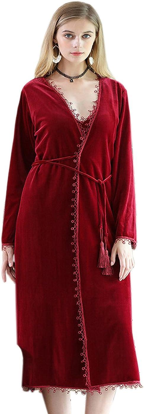 Borje Women's Robe Spa Popular standard Sleepwear Bathrobe Loungewear Ranking TOP17