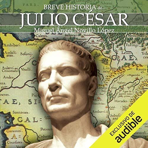 Breve historia de Julio César audiobook cover art