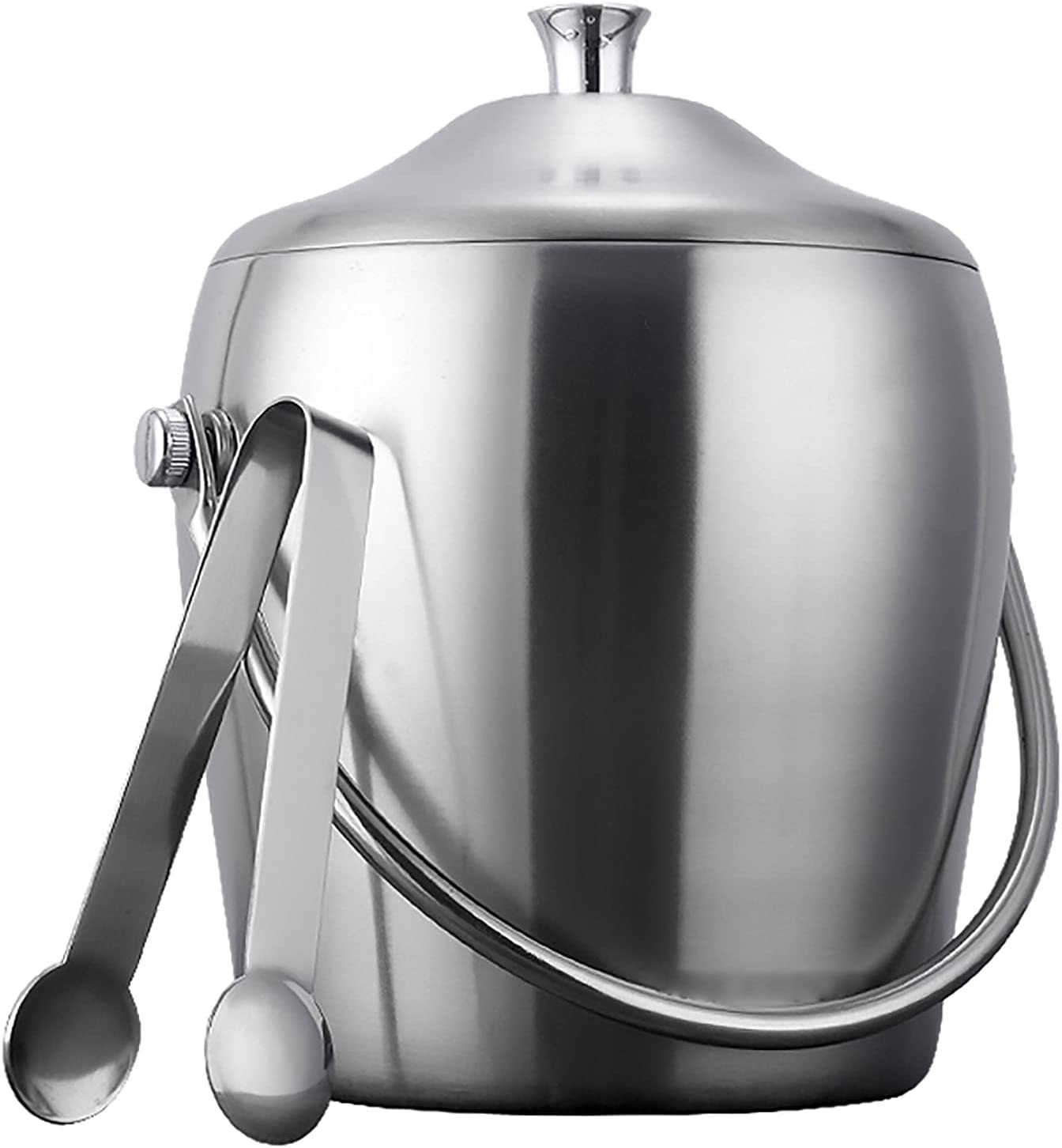 Ice Bucket Stainless Max 49% OFF Steel Double Wall Insulated and Ranking TOP7
