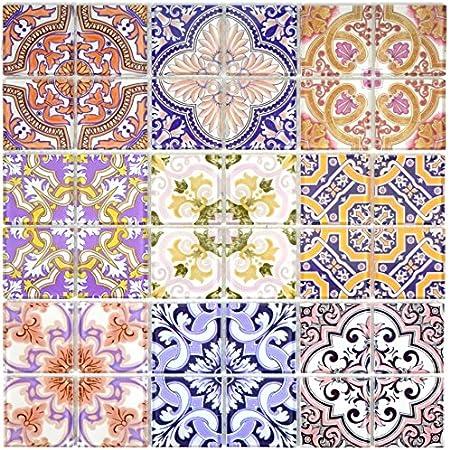 Keramik Mosaik Fliese Retro Vintage Wand Boden Küche Bad Dusche 22B-G02/_f