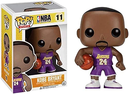 TIANXIAWUDI Pop! Personnage NBA: Lakers # 11 Kobe Bryant NO.24 Collectible Figure