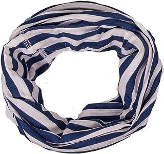 Maximo 男童围巾,汗布,反光标签,多色(*蓝/羊毛白色 4838),制造商尺寸:均码