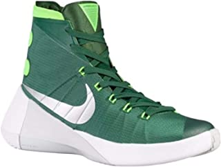 Women's Hyperdunk 2015 TB Basketball Shoe (5.5 B(M) US, Gorge Green/Metallic Silver/Electric Green)