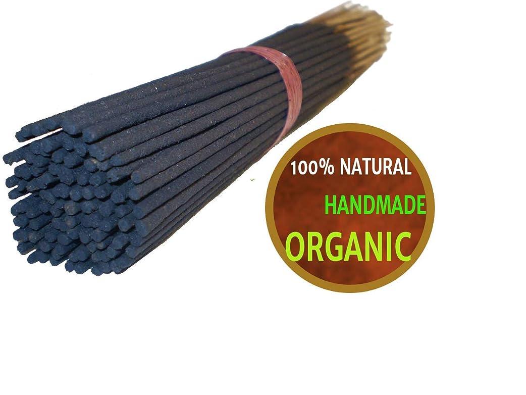 篭反論者島Yajna Frankincense And Myrrh 100% Natural Incense Sticks Handmade Hand Dipped The Best Woods Scent 100 Pack