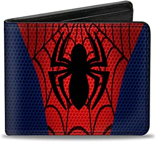 Buckle-Down Ultimate Spider-man Wallet Spider-man Chest Spider Blues/r Accessory