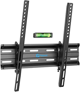 Tilt TV Wall Mount Bracket Low Profile for Most 26 - 55 Inch LED, LCD, OLED, Plasma Flat Curved Screen TV, Fits 16 Inch St...