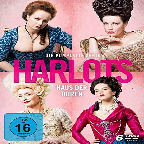 Harlots - Haus der Huren - Die komplette Serie (Staffel 1-3) [6 DVDs]
