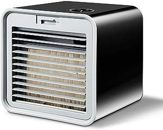 Ventilador eléctrico Mini aire Conveniente Aire acondicionado portátil Humidificador Refrigerador de aire Espacio Fácil de enfriar Purifica Gran ventilador de viento para escritorio de oficina en casa