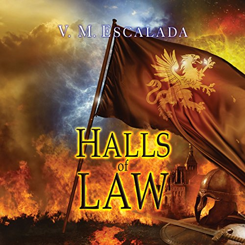 Halls of Law audiobook cover art