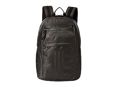 adidas League 3 Stripe Backpack (Legend Earth Green) Bags