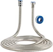 10FT Stainless Steel Shower Head Flexible Hose HandHeld For Bathroom Showerhead