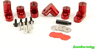 Boomba Racing WING RISER KIT RED for 2014+ Ford Fiesta ST