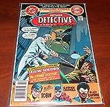 Batman's Detective Comics Dc 495 1980 Sterling Silversmith Vs the Crime Doctor Plus Robin Batgirl Black Lightning
