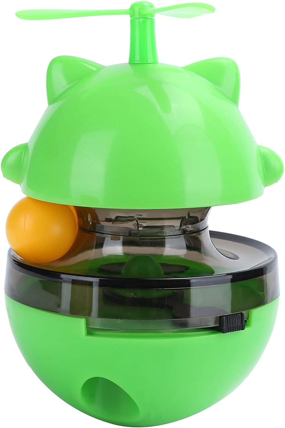 July 5 ☆ very popular Summer Gifts PetCat Food f Adjustable Ball Toy LeakageFood Max 66% OFF