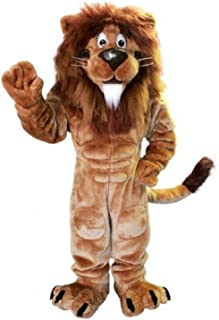 Lion Mascot Costume Character Adult Sz Real Picture Cartoon