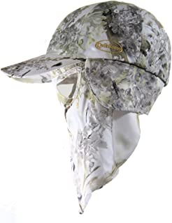 King's Snow Shadow Camouflage Cap, Camo Hunting Hat Face Mask Technology