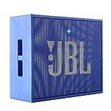JBL GO Ultra Speaker Bluetooth, Ricaricabile, Portatile con Ingresso Aux-In, Microfono per Chiamate in Vivavoce, Compatibile con Smartphone, Tablet e Dispositivi MP3, Blu