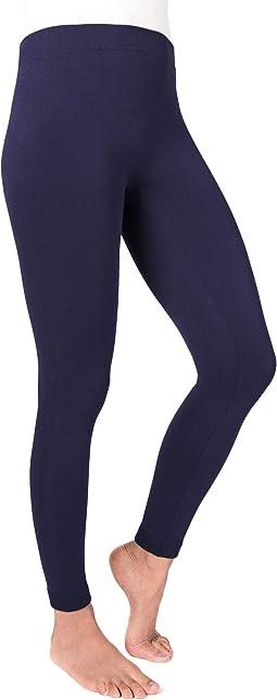 Women's Solid Fleece Leggings