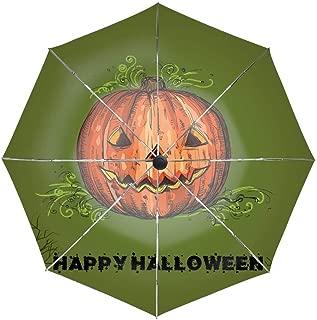 Halloween Umbrella Easy Touch Anti UV Unbreakable Windproof Compact Sport Umbrellas