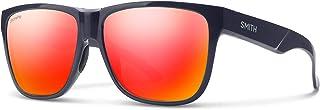 Smith Lowdown XL 2 201514PJP60X6 Mens Deep Ink Frame ChromaPop Red Mirror Lens Square Sunglasses