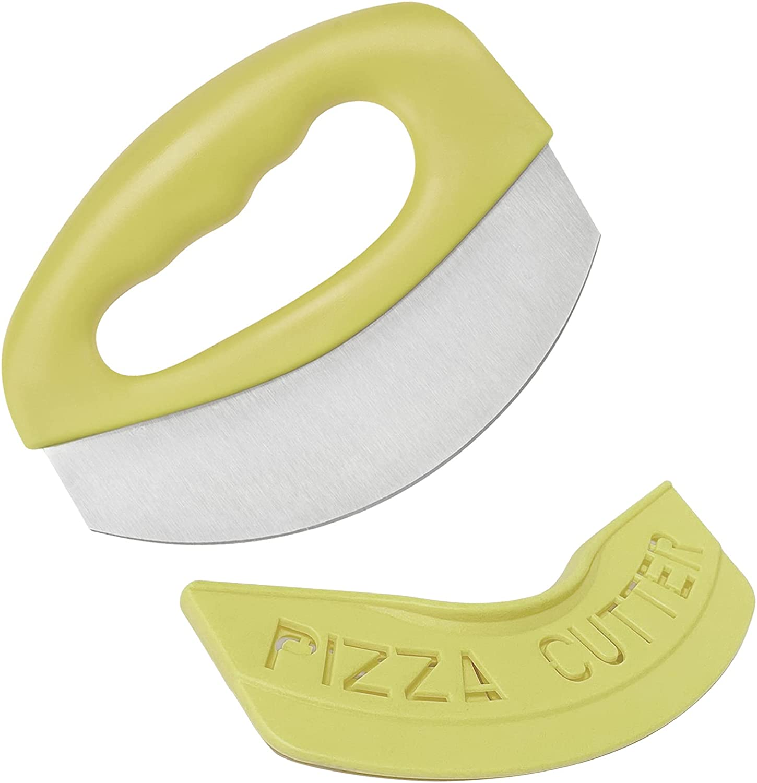 Pizza Cutter XSHBGF Food Our shop OFFers the best service Chopper-Super Sharp Blade Premium High order Stai