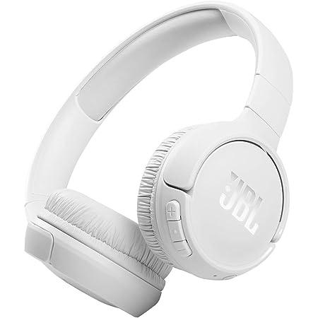 JBL Tune 510BT: Wireless On-Ear Headphones with Purebass Sound - White