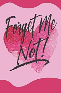 Forget Me Not!: Blank Password Log Book With Alphabetical Tabs For 416 Websites, Usernames, Passwords And Notes:  Organize All Of Your Internet Log In Information In One Discrete Place
