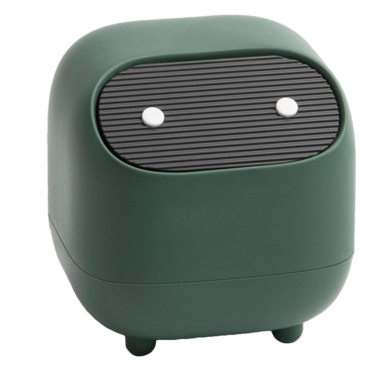 Sheebo Gifts Modern Plastic Mini Trash Award-winning store Wastebasket Can Dispenser Ninja