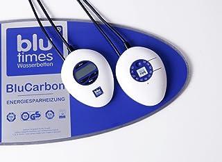 BluTimes Chauffage de lit à eau avec commande numérique - BluCarbon