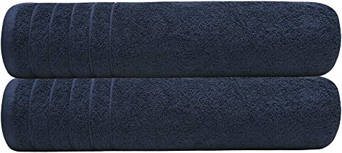 Tens Towels Bath Sheets, 100% Cotton Towels, 35x70 inches, Lighter Weight & Super Absorbent, Oversized Bathroom Towels, Qu...