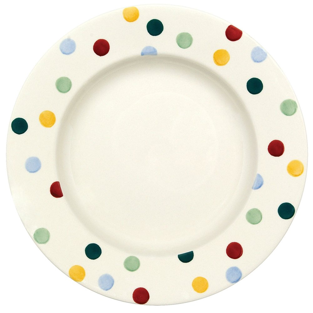 "Emma Bridgewater Polka Dot Plate 10.5"""
