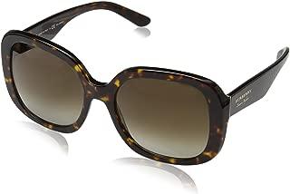 Burberry Women's 0BE4259 3002T5 56 Sunglasses, Dark Havana/Polarbrowngradient