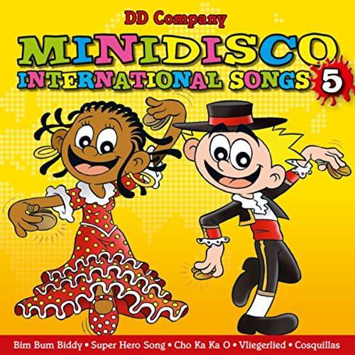 DD Company, Minidisco, Minidisco Deutsch, Minidisco English, Minidisco Español & Minidisco Türk feat. Minidisco Italiano & мини-диско русский