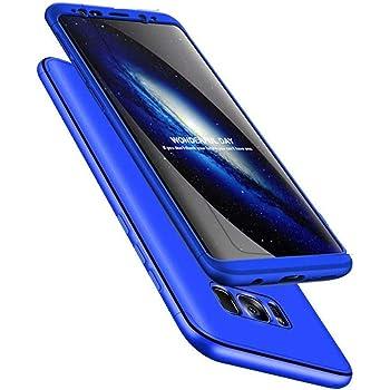 HMTECH Galaxy Note 8 Funda PC de plástico Duro 360 Grados Full ...